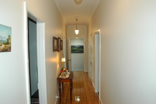 Typical hallway for this charming period cottage