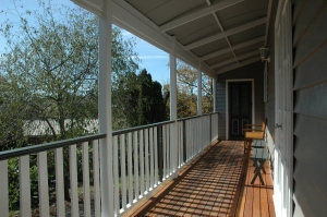 Side verandah - J camera